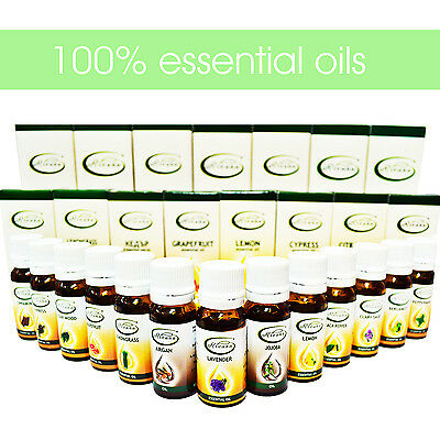 100% Pure Essential Oils Therapeutic Grade Aromatherapy BUY 3 GET 1 FREE