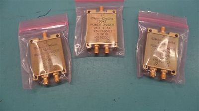 Mini Circuits, POWER DIVIDER ZATT-2-1A,  KS21604 L1 - LOT OF 9 EA
