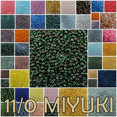 11/0 23 g Miyuki Japanese Glass Round Rocaille Seed Beads #3-2429 (1 of 8)