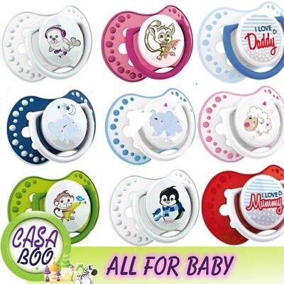 2 pcs Baby Dummy Pacifier LOVI Dynamic Soother Very Colorful  many designs
