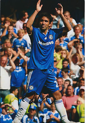 DECO SIGNED COA Autograph 12x8 Photo AFTAL CHELSEA Premier League RARE