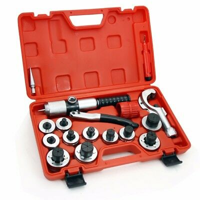 CT300A Lever Tubing Expander Tool Swaging Kit HVAC Tools Tube Piping & Pipe