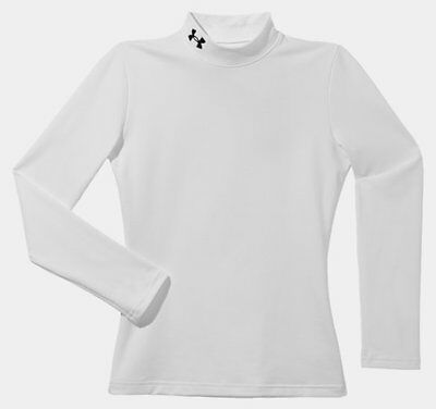 035107 SPORTS SALE Under Armour Kids CG Baselayer Top White - WAS £29