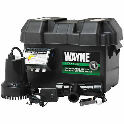 Wayne - ESP15 - Battery Backup Sump Pump (720 GPH @ 10')