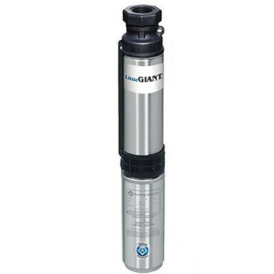 Little Giant W12G15S17-22P - 1-1/2 HP 12 GPM Deep Well Submersible Pump (2-Wi...