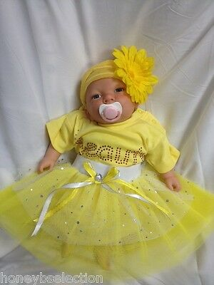 Beauty Tutu Skirt Rhinestone Baby Grow Fancy Dress Birthday Party Cake Smash
