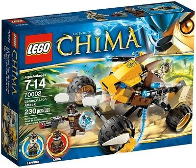 LEGO 70002 - Legends Of Chima - Lennox's Lion Attack ** GREAT GIFT **