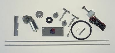 1947 - 1954 Chevy PU Dual Windshield Wiper Kit  with 2 Speed  Switch