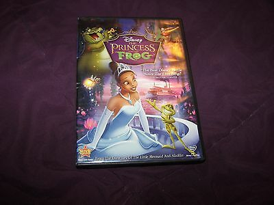 REAL Disney The Princess and the Frog (DVD, 2010) Great Condition!!!