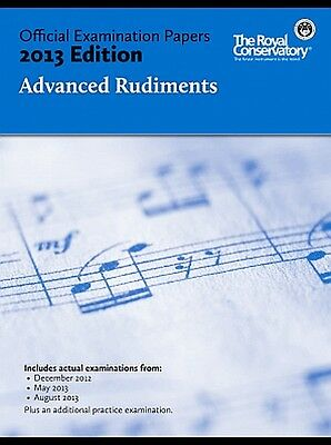 Official Examination Papers 2013 edition Advanced Rudiments