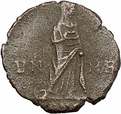 CONSTANTINE I the GREAT 347AD  Ancient Roman Coin Christian Deification  i37826