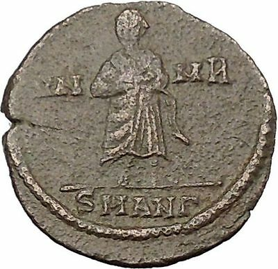 CONSTANTINE I the GREAT Cult  Ancient Roman Coin Christian Deification  i37841