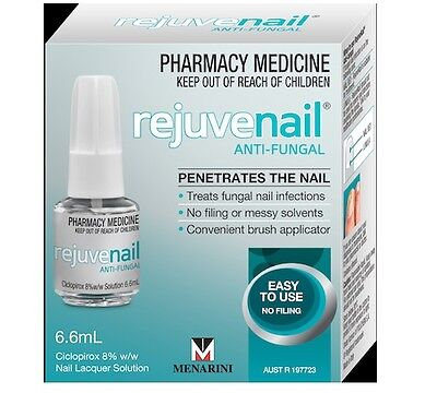 Rejuvenail Anti Fungal 6.6ml Nail Treatment