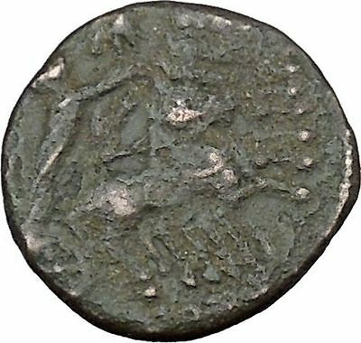 CONSTANTINE I the GREAT Cult  Heaven Horse Chariot Ancient Roman Coin i37861