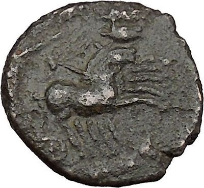 CONSTANTINE I the GREAT Cult  Heaven Chariot Ancient Roman Coin Horse  i37873
