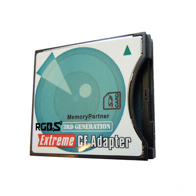 SD to CF Type II Adapter Card Converter -- Supports Eye-Fi,SDHC,SDXC 64/128GB