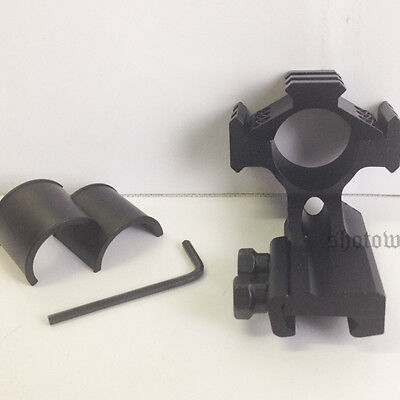 "Tri Rail Ring 25.4mm 30mm Scope Mount Picatinny Weaver Mount Cantilever 1"" Rifle"