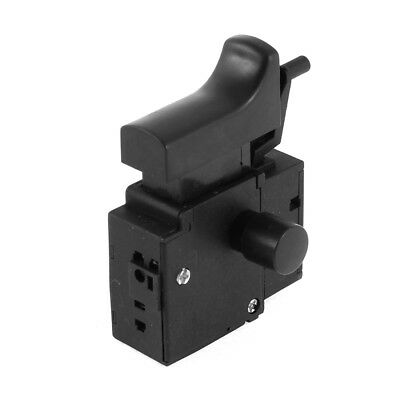 AC 250V 6(6)A SPNO Lock On Electric Drill Power Tool Trigger Switch