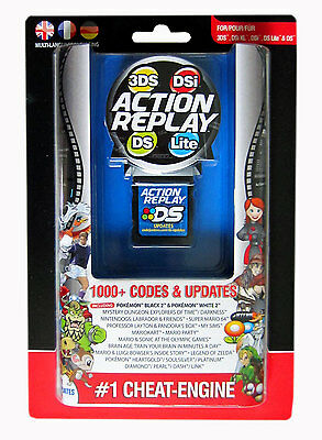 Action Replay Cheat Cheats Device for all Nintendo 3DS NDS DS Games and Pokemon