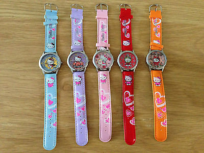 Hello Kitty Watch - Various Colours / Designs - Brand New
