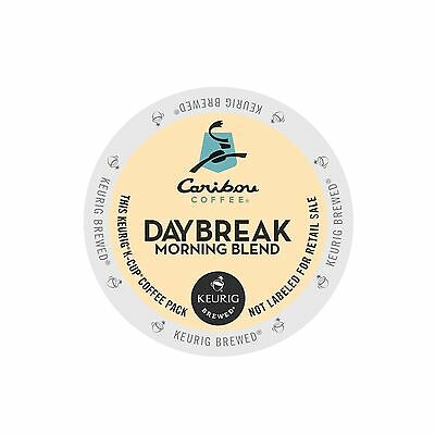 Caribou Coffee Daybreak Morning Blend Coffee Keurig K-Cups 96-Count
