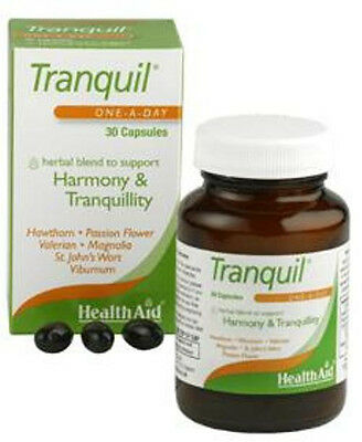 Health Aid Tranquil Capsules*30 balance between stress related sleep disorders