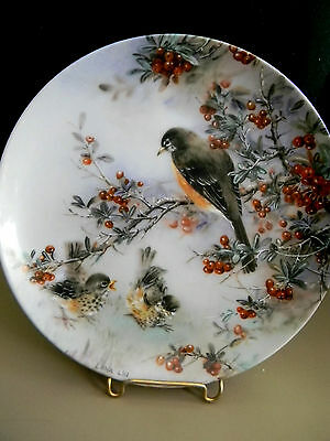 """Delicate Accord""  by Lena Liu  W.L George Collector Plate - 1991"
