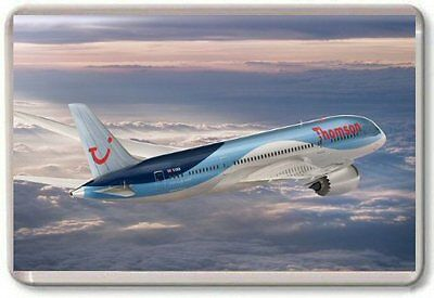 Boeing 787 Dreamliner Thomsons Fridge Magnet 01