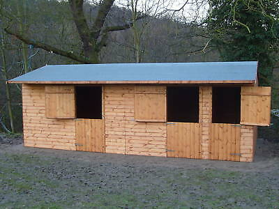 wooden horse stables 24 x 10 best quality on ebay