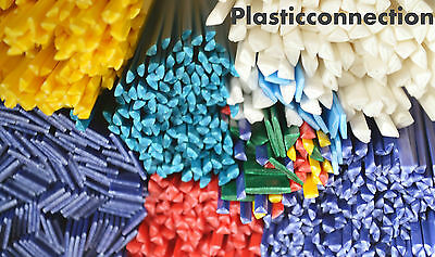 Plastic welding rods mix 116pcs.PP,ABS,HDPE,LDPE, MDPE fairing repairs