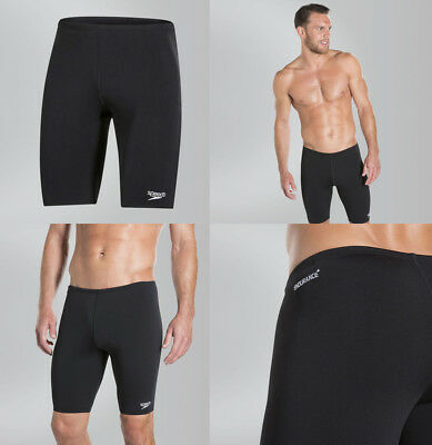 026988 SPORTS DEAL Speedo Endurance+ Jammer Men's Swimming Shorts - Black