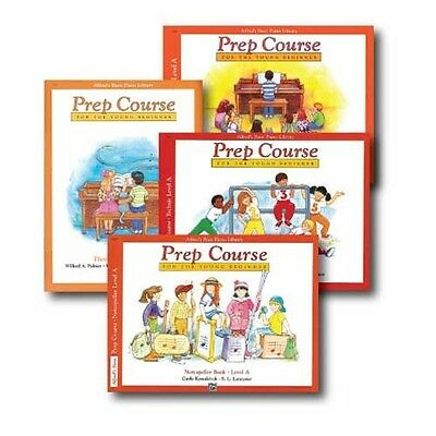 Alfred's Basic Piano Prep Course Level A - Four Book Set