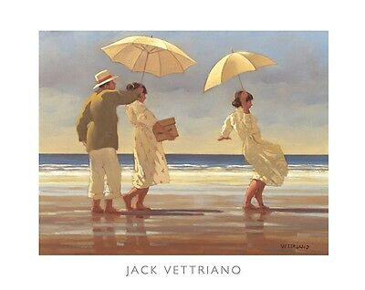 'The Picnic Party' by Jack Vettriano - High Quality Print