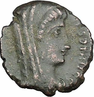 CONSTANTINE I the GREAT Cult  Ancient Roman Coin Christian Deification  i38120