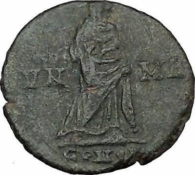 CONSTANTINE I the GREAT Cult  Ancient Roman Coin Christian Deification  i38125