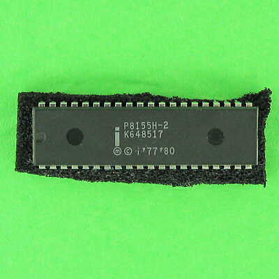 Intel P8155H 256x8 RAM, Timer, 3 Programmable Ports 40 Pin DIP IC Ships From USA