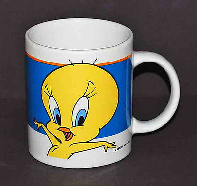 2000 Warner Brothers Looney Tunes Tweety Bird Gibson Coffee Mug Tea Cup
