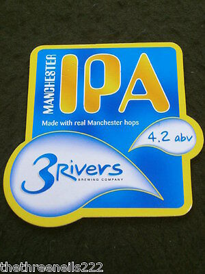 Beer Pump Clip - 3Rivers Manchester Ipa