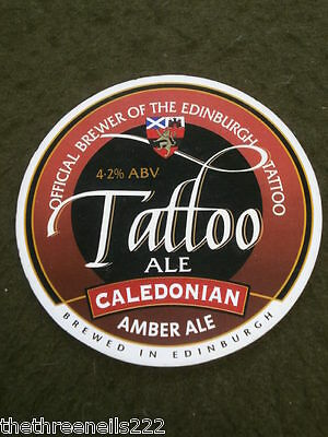 Beer Pump Clip - Caledonian Tattoo Ale