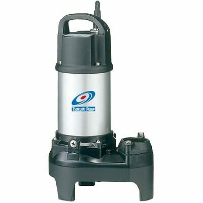 "Tsurumi 2PU - 48 GPM 1/5 HP (2"") Submersible Stainless Steel Pond/Fountain Pump"