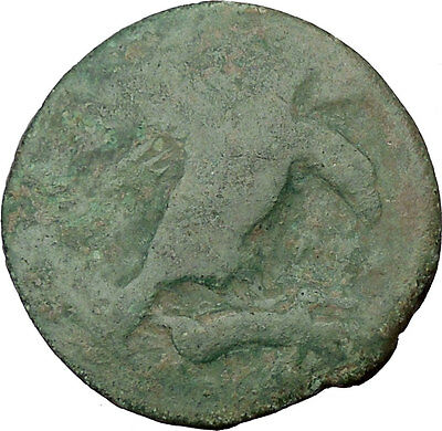 AKRAGAS in SICILY 425BC Hemilitron Eagle Hare Crab Crayfish Greek Coin i38061
