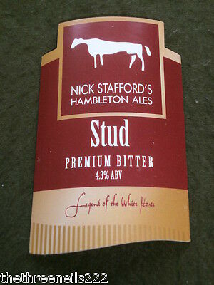 Beer Pump Clip - Nick Stafford's Stud