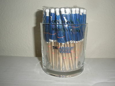 New Rare The Absolute Umbrella Stand Glass With 50 Drink Umbrellas Bar Home