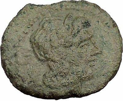 KATANE in SICILY 212BC Aphrodite Hyblaia with Bird Ancient Greek Coin i38106
