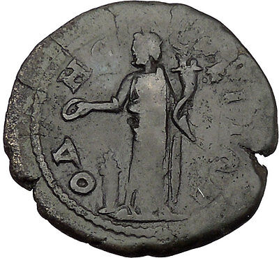 ELAGABALUS 218AD Odessos Thrace Great God Derzelas Ancient Roman Coin i38164