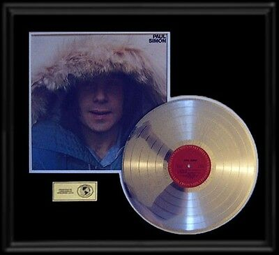 Paul Simon Debut Solo Self Titled First Gold Record Platinum Disc Lp Rare!