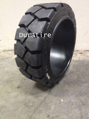 16x5x10.5 Solid Press On Forklift Tire Traction Pattern (2 Tires) 16x5x10 1/2