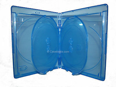 NEW! 1 VIVA ELITE 5-disc Blu-ray Replacement Case Multi - Holds 5 Discs