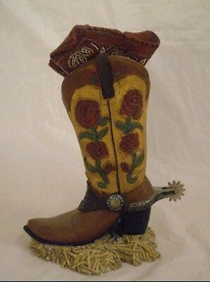 Western Boot w/Spurs & Removable Bandanda