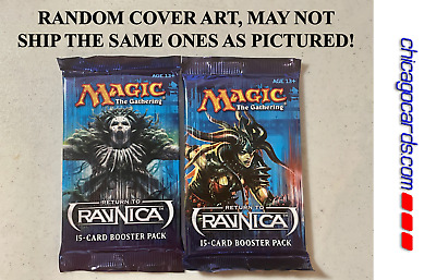 2x Magic the Gathering MTG Return to Ravnica 15-Card Booster Pack English Sealed